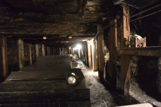 The historic mine