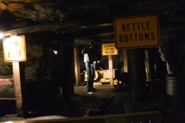 Down the mine with Marvin