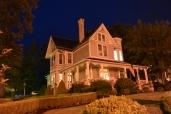 Morris Harvey House by night