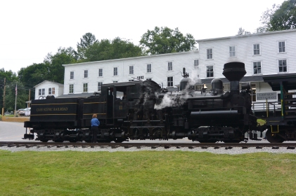 Depot and engine