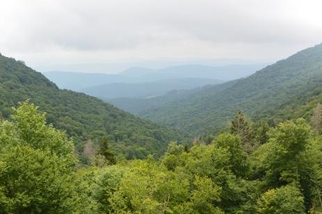 The scenery