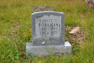 Forest Workman grave