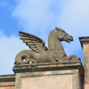 Kelpie on the Briggait Roof