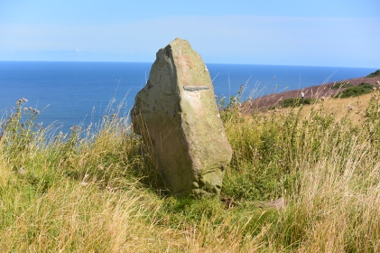 Modern standing stone