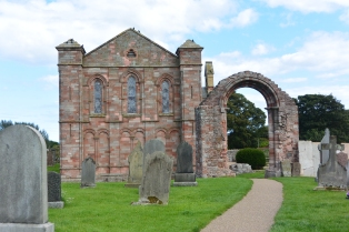 Coldingham Parish Church and Priory ruins