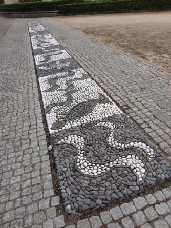 Pavement mosaic