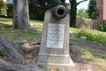 Cannon used by George Washington