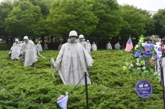 Korean War Memorial, 2014