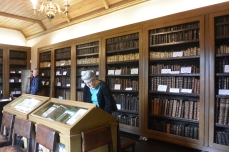 Perusing the books