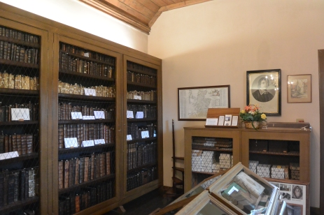 Leighton Library interior