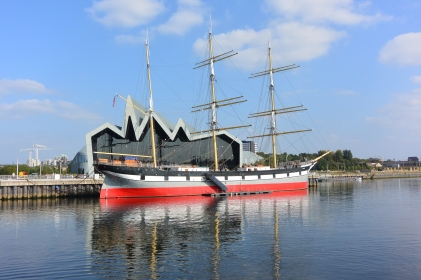 Riverside Museum and Glenlee