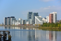 Glasgow Harbour housing