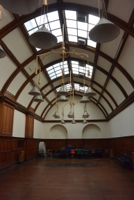 Ex-billiard hall