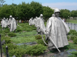 Korean War Memorial, 2008