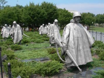 Korean War Memorial, 2008