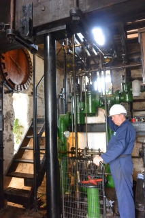 Levant beam engine