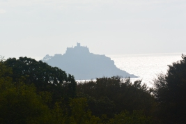 St Michael's Mount from Tremenheere