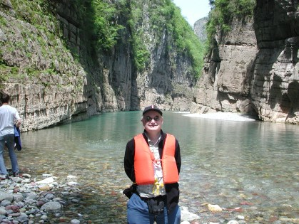 John at ShenNong Stream