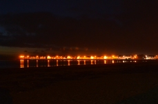 Troon by night