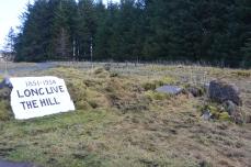 Site of village store