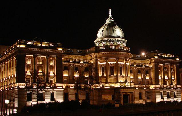 Mitchell Library. Image credit: Andeggs, via Wikimedia. Public domain.