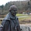 Tom Weir statue,Balmaha