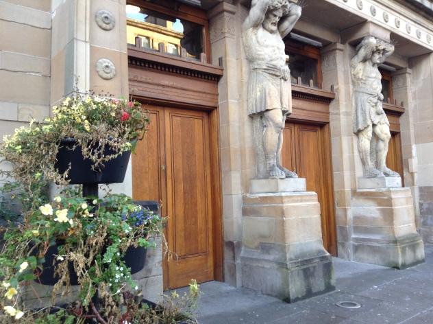 Granville Street entrance