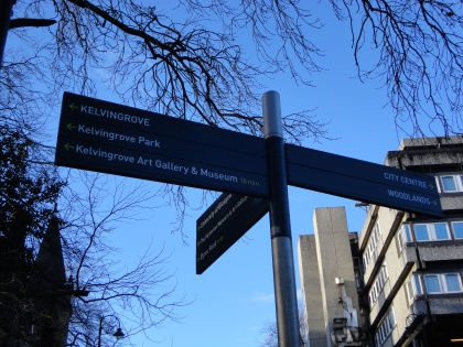 Kelvingrove signs