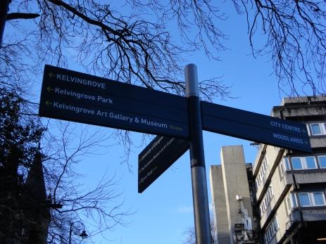 Kelvingrove signs