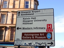 Kelvin Hall sign