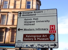 Kelvin Hall sign
