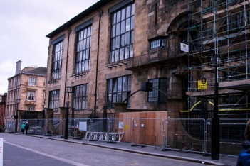 Glasgow School of Art. Photo credit Mardelle Ceaser
