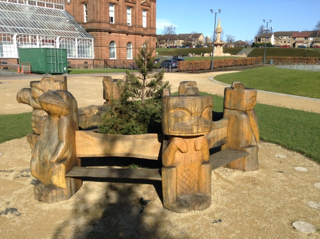 People's Palace bench