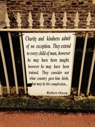 Robert Owen's words