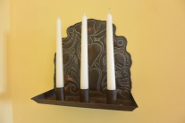 Arts and crafts bedroom - sconce