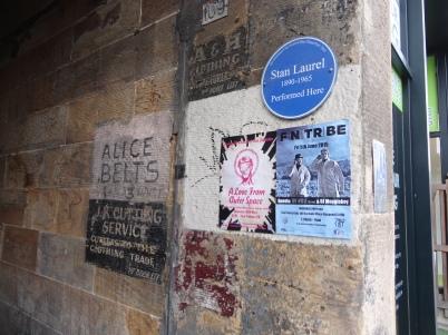 Stan Laurel plaque