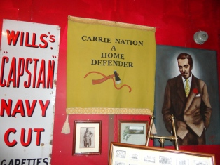 Carrie Nation poster