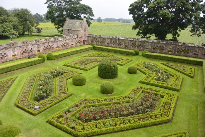 Garden from the castle