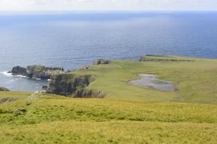 Cliffs at Huxter