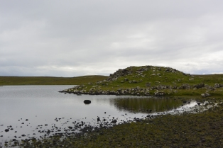 Loch of Houlland and broch