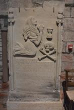 17C tombstone