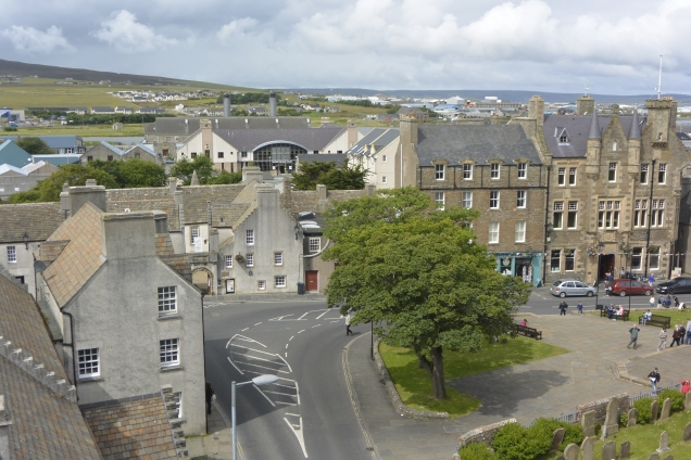 Kirkwall from the Bishop's Palace