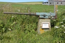 Gun from HMS Hampshire