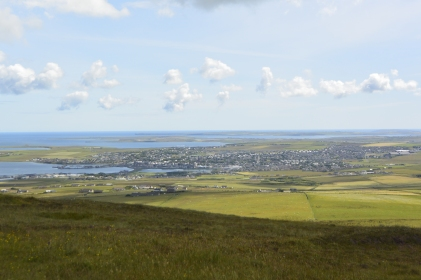 Kirkwall from Wideford Hill