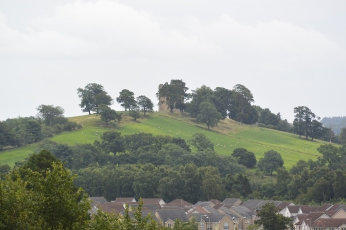 Clackmannan Tower from Alloa Tower