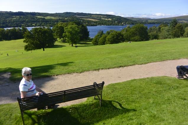 Loch Lomond at Balloch Castle