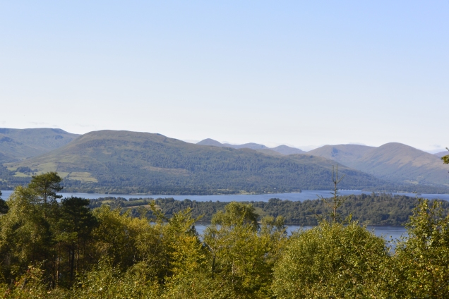 Loch Lomond from Whinney Hill