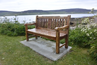 Bench for Dr Olaf Cuthbert