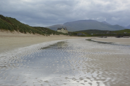 Balnakeil Bay and House
