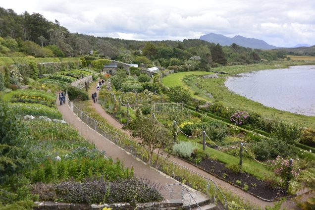 Walled garden at Inverewe
